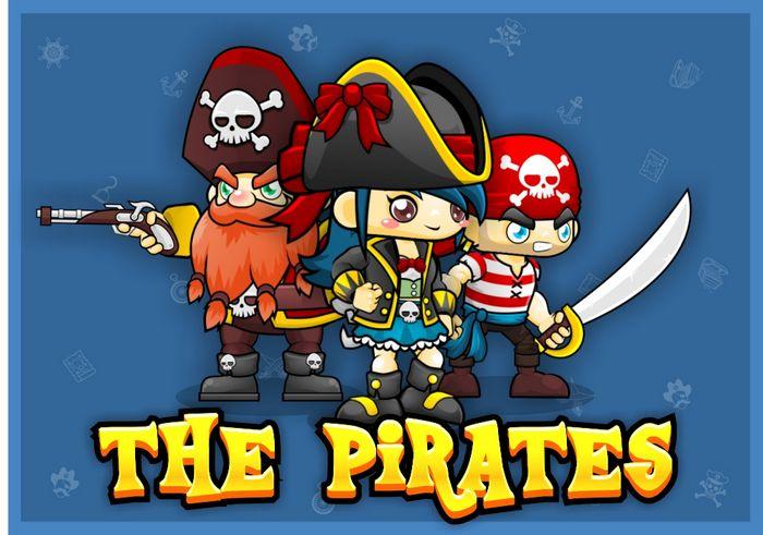 The Pirates – Game Sprites