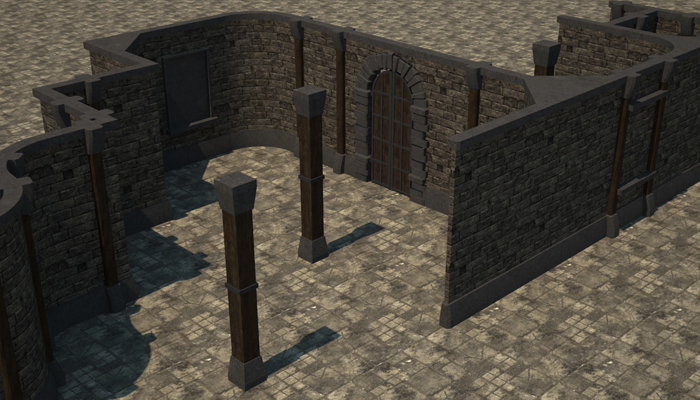 Modular Dungeon Builder: Basic Construction