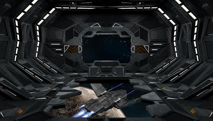 Spaceship Condor Interior.