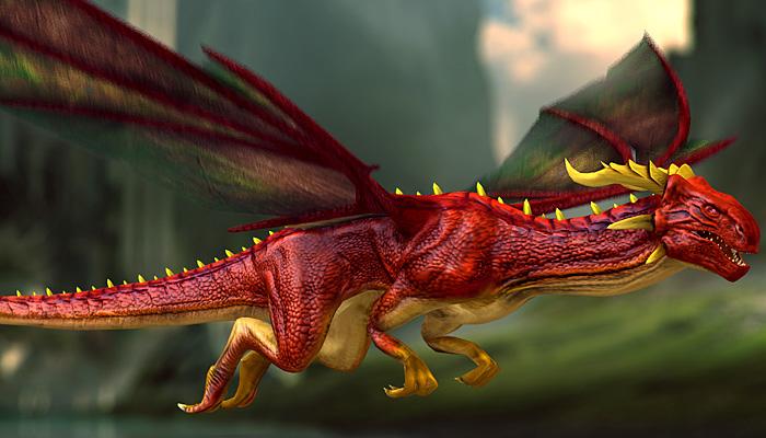 3Dfoin-Dragon