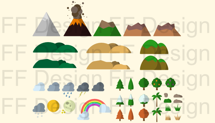 2D – 42 Landscape Assets