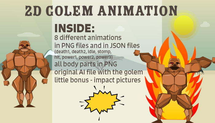 Golem Animation