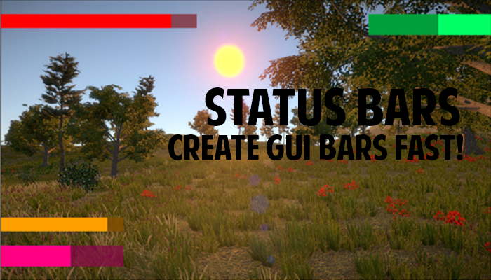 Status Bars – Create GUI Bars Fast!