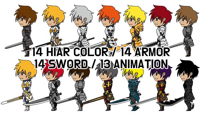 14 costume Knight