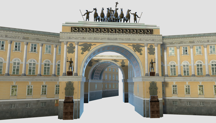 General Staff Building – Palace Square – Saint Petersburg