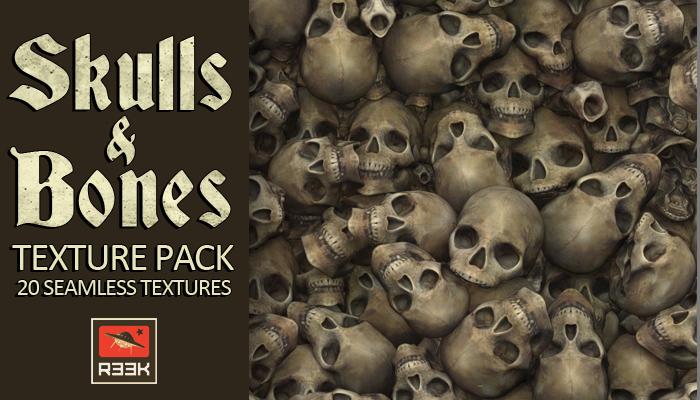 Skulls and Bones Textures