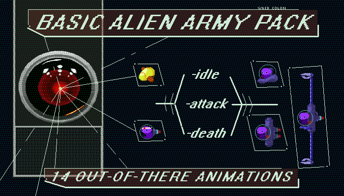 Alien Army Base Pack