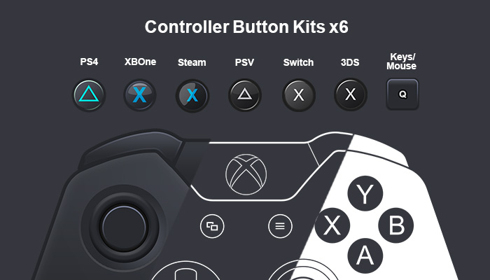 Controller Overlays and Button Kits