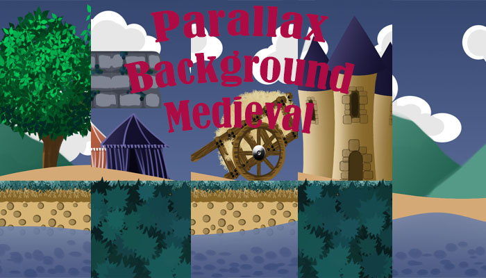 Parallax Background Medieval