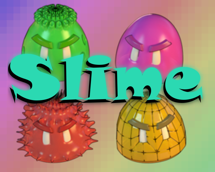 Slimes Sprites Set