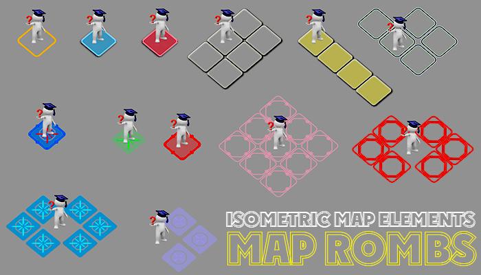 2D MAP ROMBS
