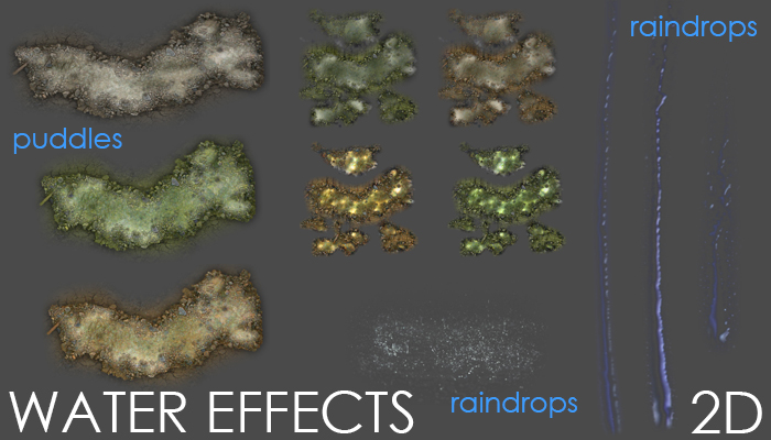 2D WATER EFFECTS