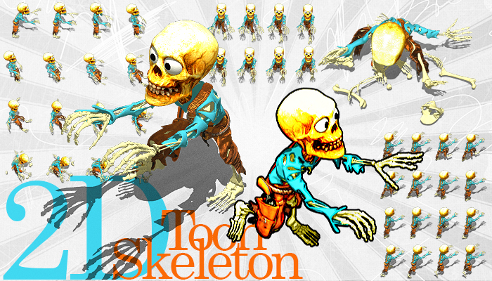 2D Toon Skeleton