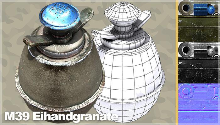 M39 Eihandgranate