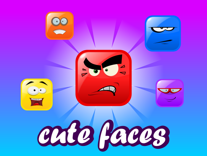 Cute faces Vol.1