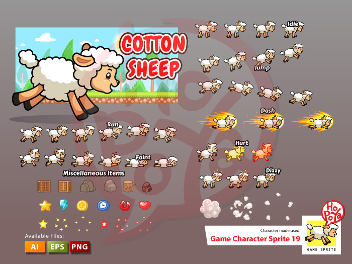 Game Character Sprite 19