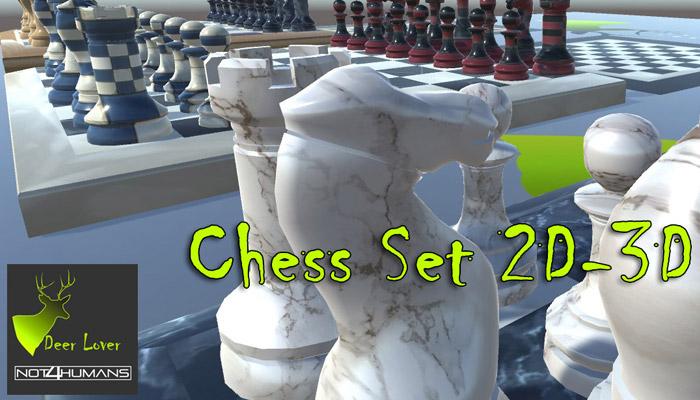 3D-2D Chess