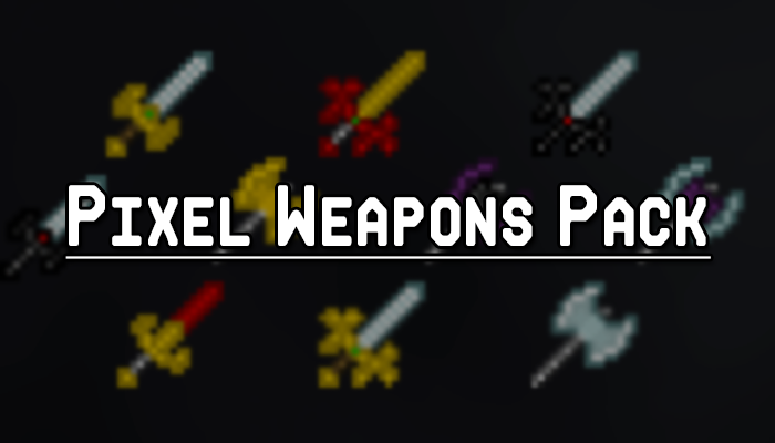 Pixel Weapons Pack