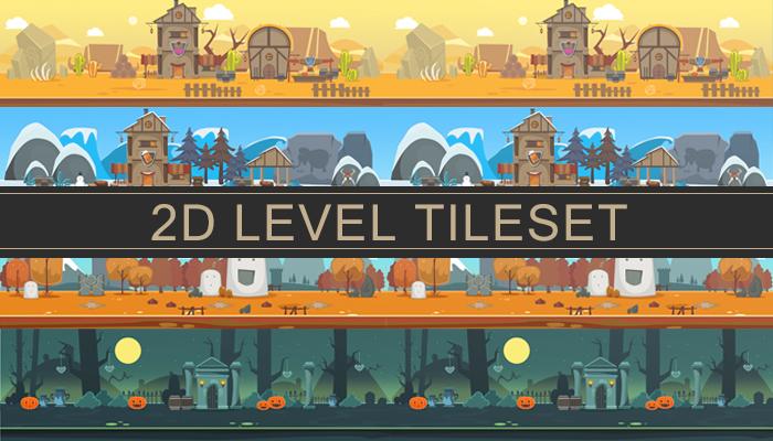 2D Level Tileset