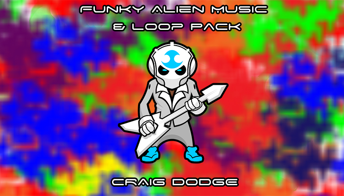 Funky Alien Music Loop Pack