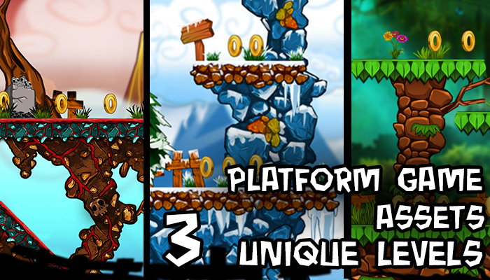 2D Platform game asset
