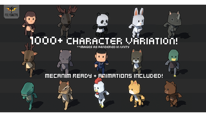 Simple Character Pack