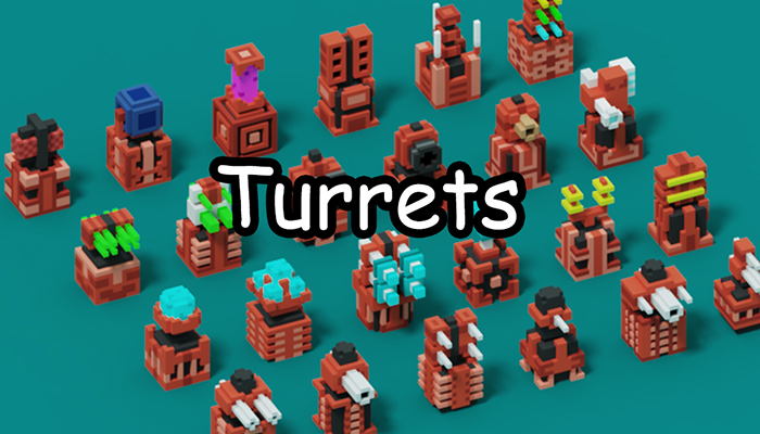 Voxel Turrets