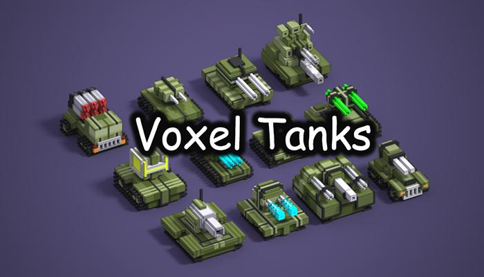 Voxel Tanks