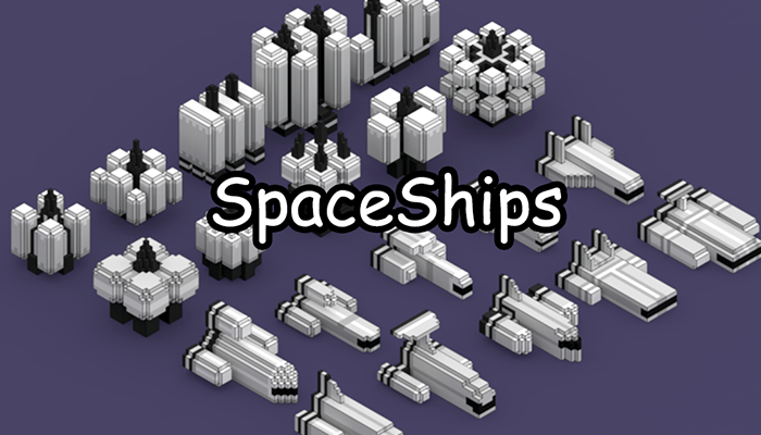 Voxel Space Ship