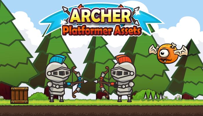 Archer Platformer Assets