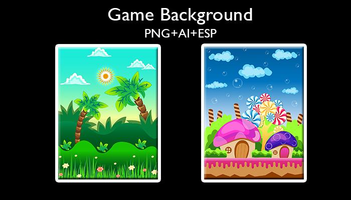 Game Background 2 Portrait