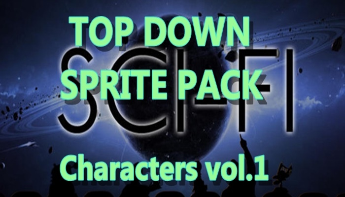 Top Down SCI-FI character pack 1