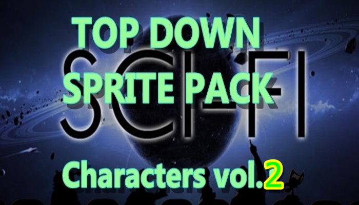 Top Down SCI-FI character pack 2
