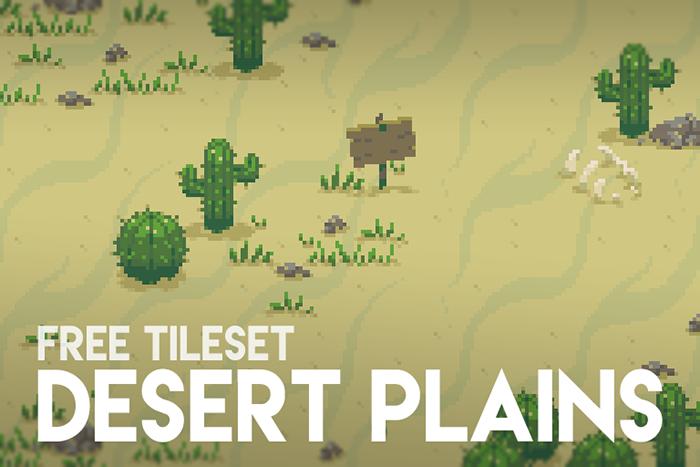 Simple Desert – Free Tileset