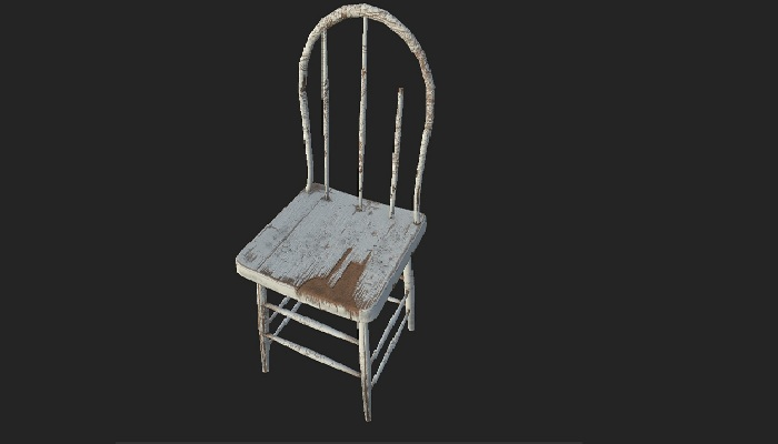 Abandoned Old Chair 07