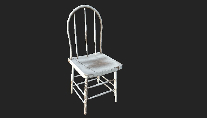 Abandoned Old Chair 06