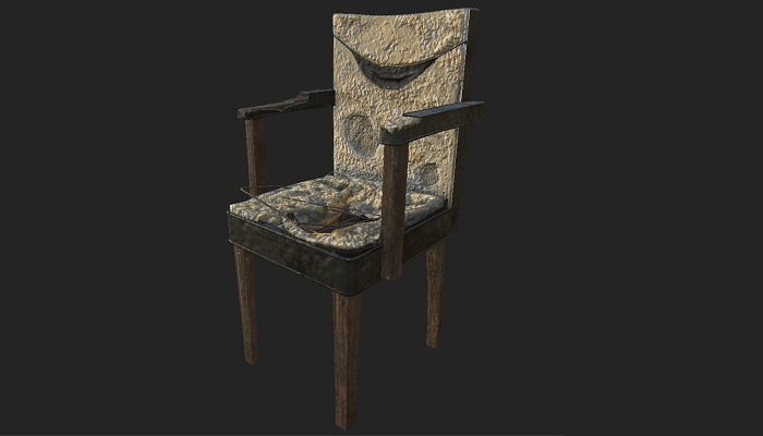 Abandoned Old Chair 01