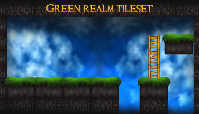 Green Realm Tileset