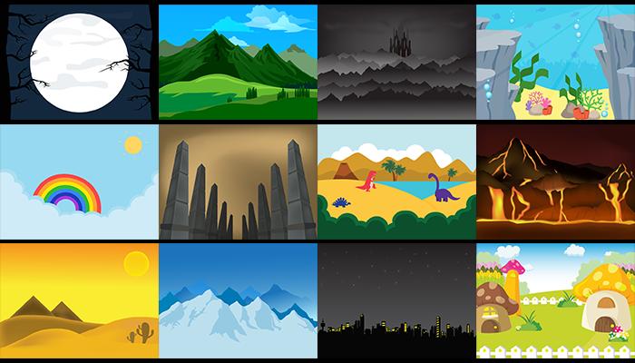 2D 13 Background