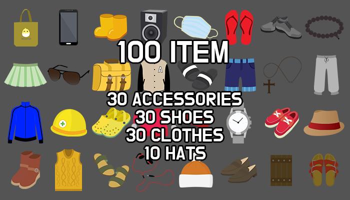 100 modern item