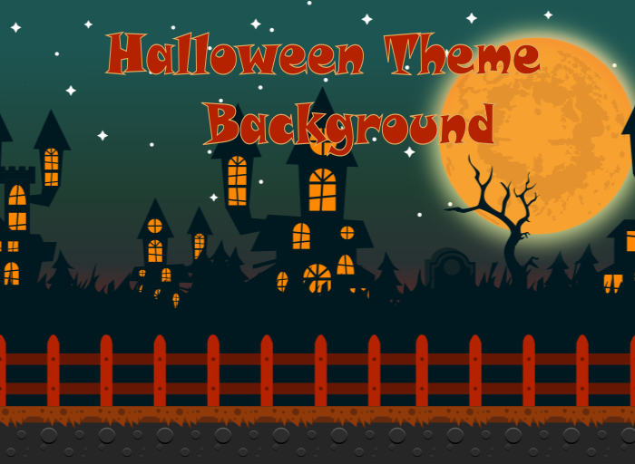 Halloween Theme Background