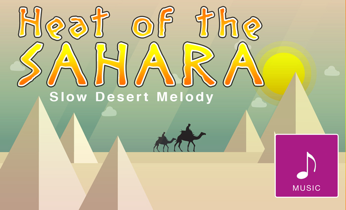 Heat of the Desert – Music Loop
