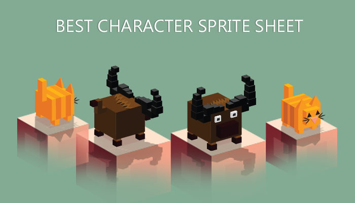 Isometric Game Character GUI