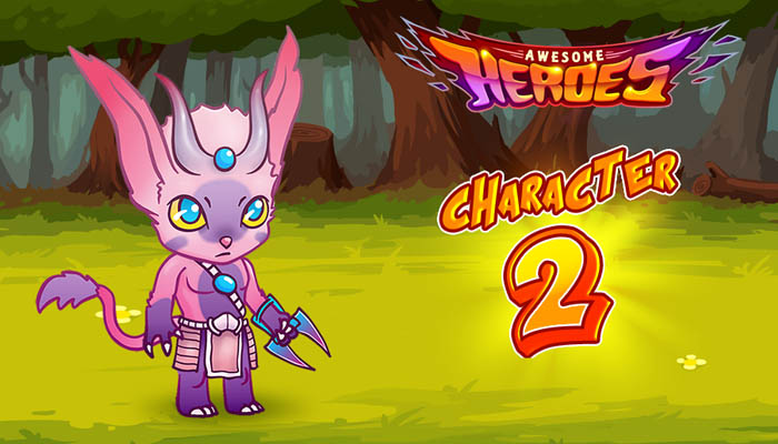 Awesome heroes character 2