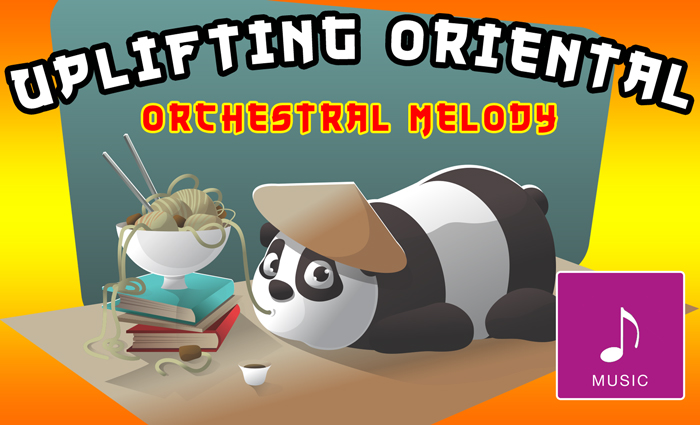 Uplifting Oriental Orchestral Melody
