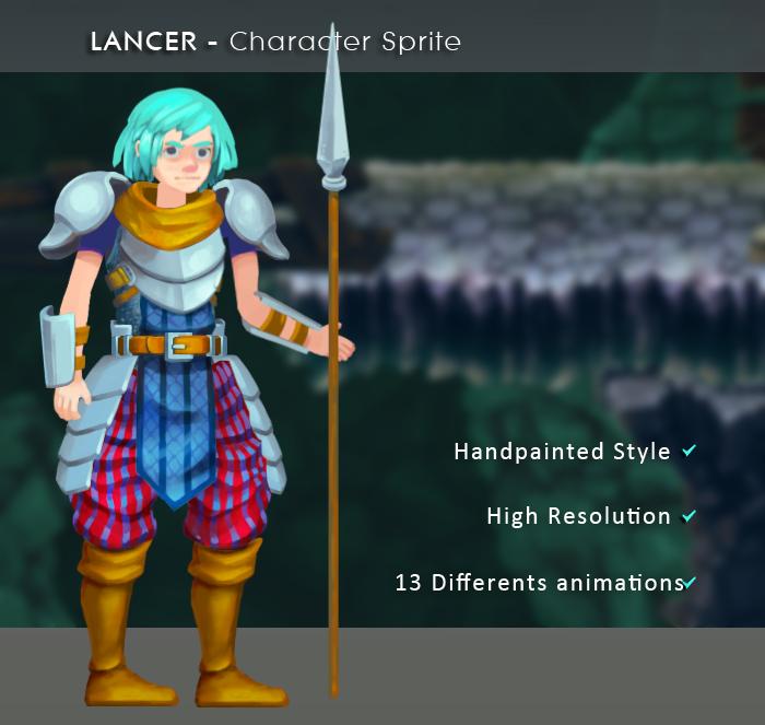 Lancer – Character Sprite