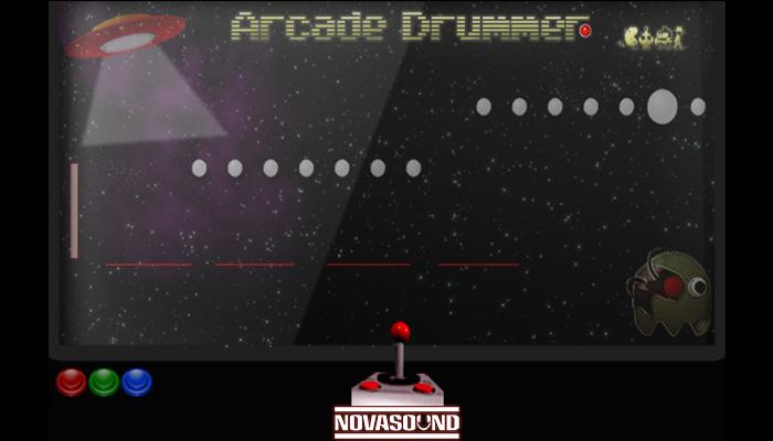 Arcade Drummer FX – Percussive Game FX – Nova Sound