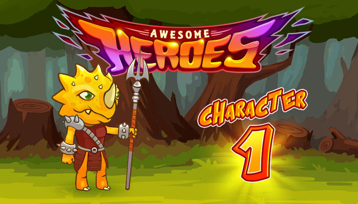 Awesome heroes character 1