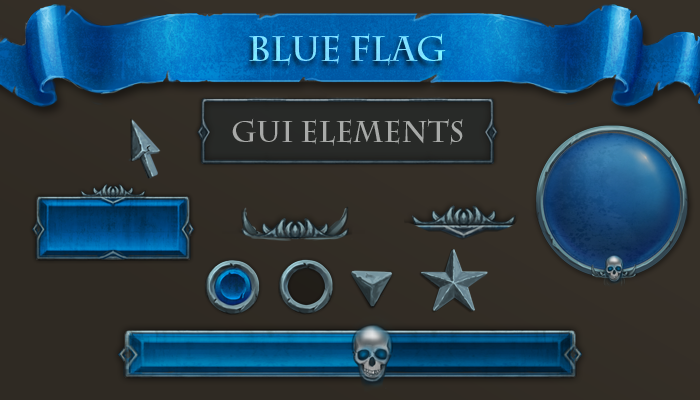 GUI – Blue Flag