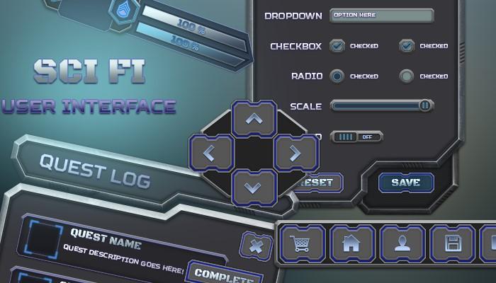 Sci Fi UI